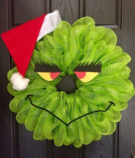 The Grinch Who Stole Christmas - Christmas Door Wreaths