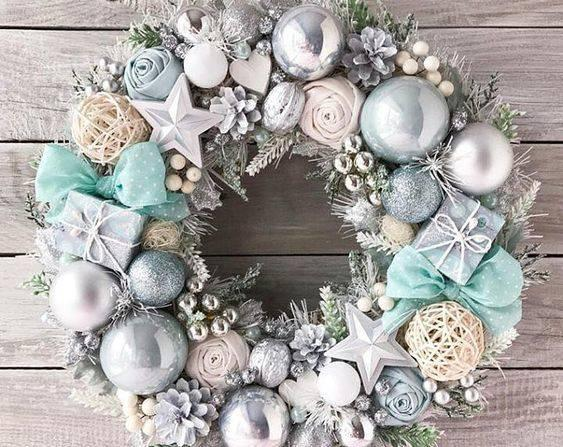 Wonderful and Wintery - Silver and White