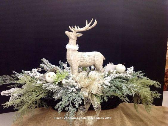Fantastic Reindeers - Homemade Christmas Table Decorations