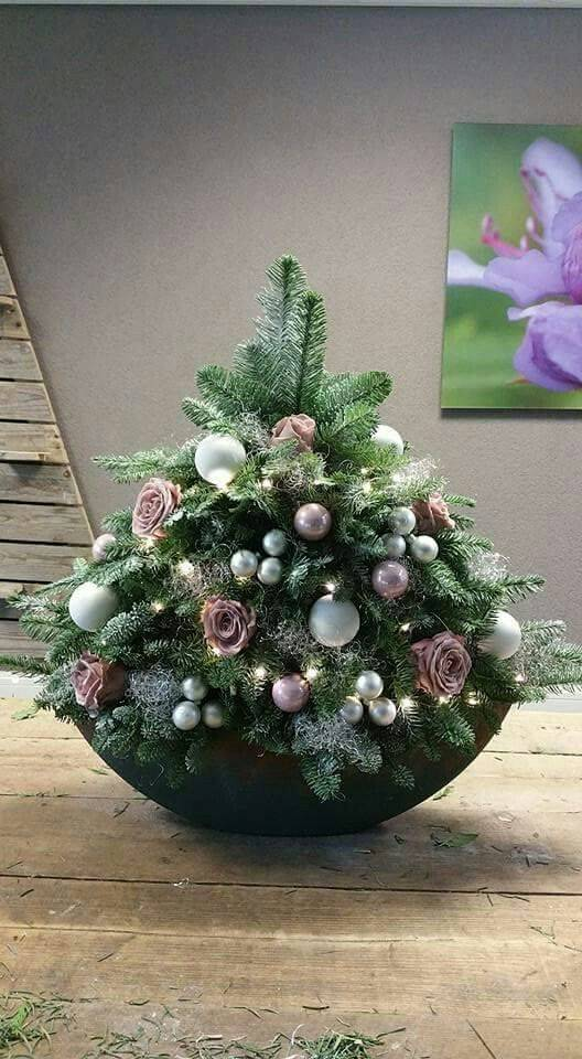 A Small Christmas Tree - Cute and Wintery