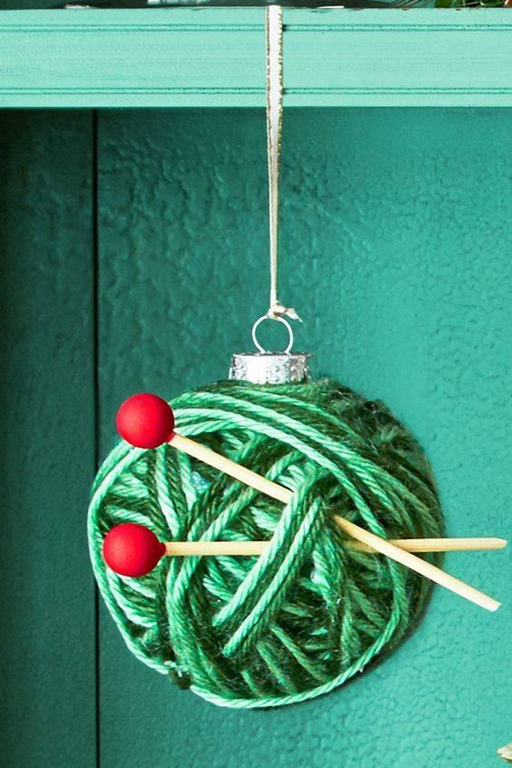 Time for Knitting - A Ball of Yarn