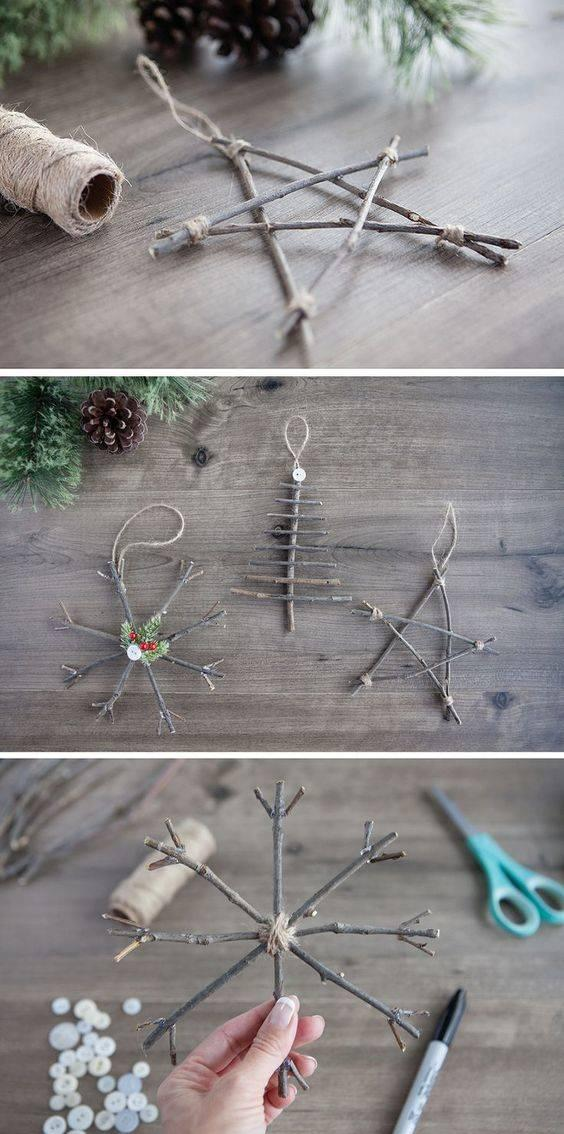 A Touch of Nature - Homemade Christmas Tree Ornaments