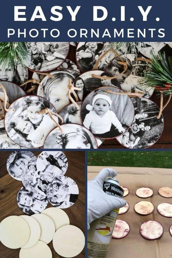 Photo Ornaments - A Lovely Setting
