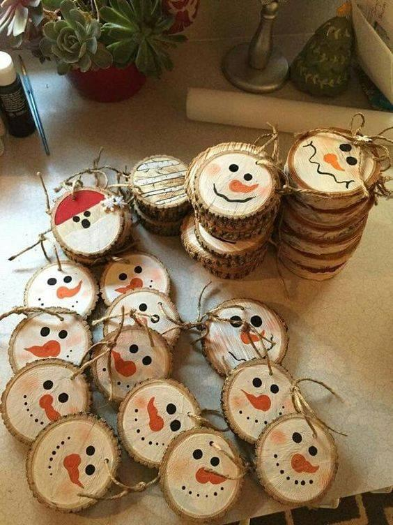 Wooden and Wonderful - Homemade Christmas Tree Ornaments
