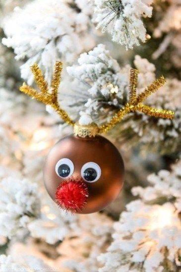 Merry Reindeer – DIY Christmas Tree Decorations