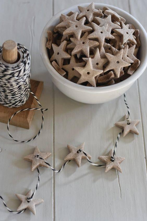 Starry Gingerbread - Homemade Christmas Ornaments