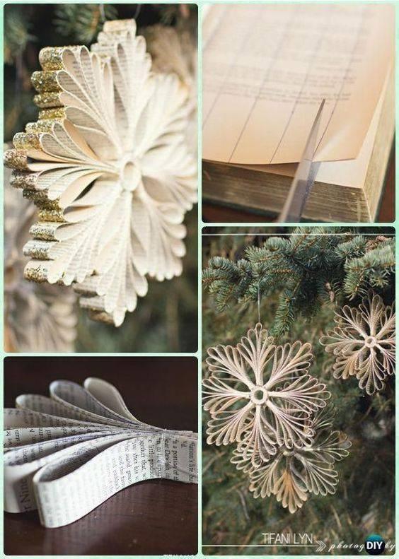 Stunning Snowflakes – DIY Christmas Tree Decorations