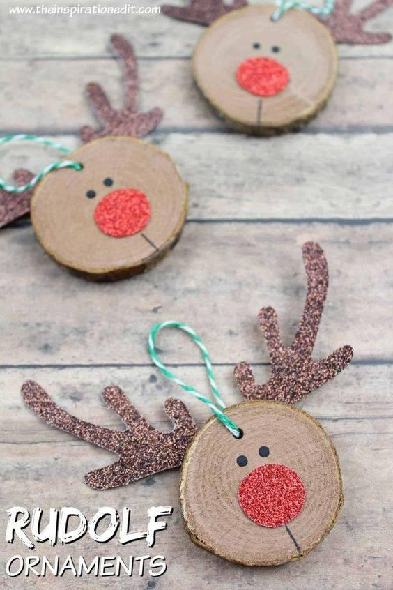 Simple and Cute - Rudolf the Red-nosed Reindeer
