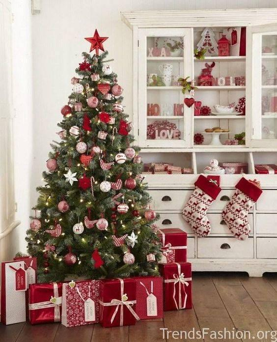A Traditional Arrangement - Best Christmas Tree Decorations
