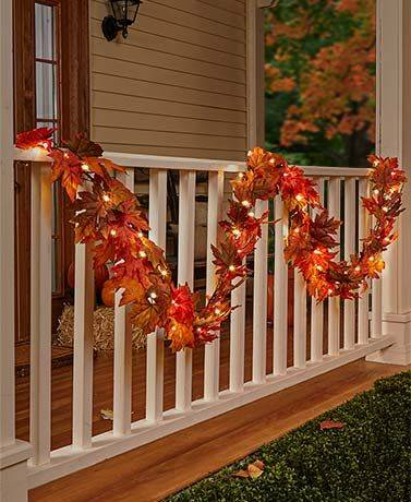 A Gorgeous Garland – Of Autumn Leaves