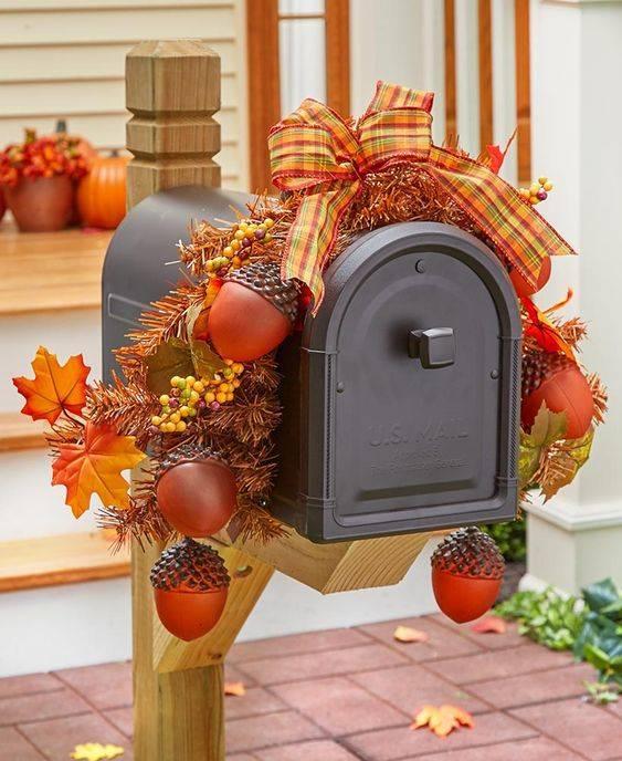 An Adorable Mailbox - A Feeling of Autumn