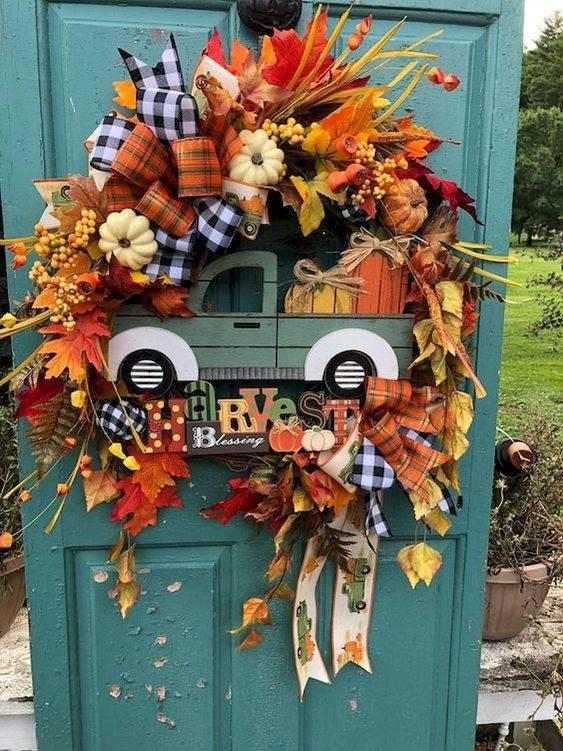 Happy to Harvest - Adorable Fall Wreaths