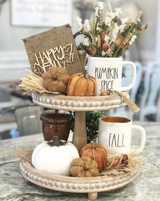 Awesome Autumn - Try Out a Tiered Tray