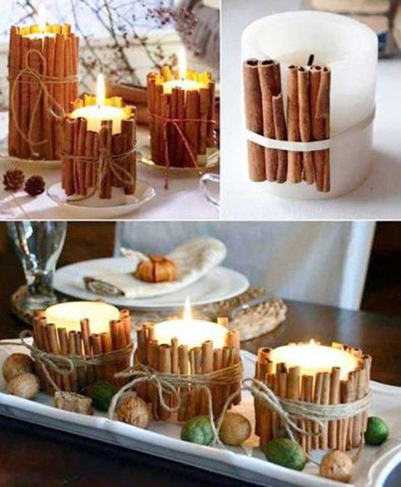 Spicy Cinnamon - Wrapped Around Candles
