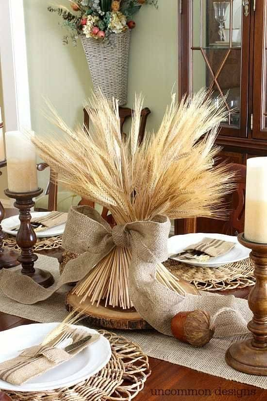 A Bundle of Wheat - Simple and Sophisticated