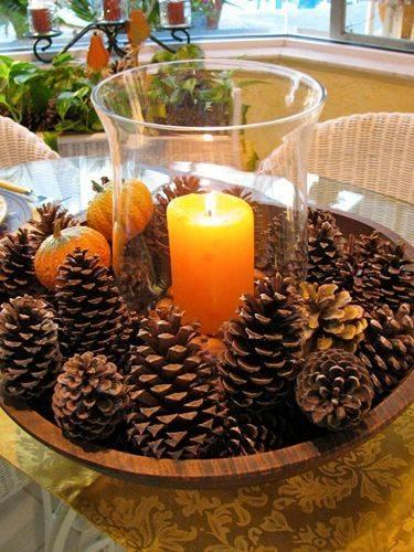 Pretty with Pinecones – Natural and Earthy