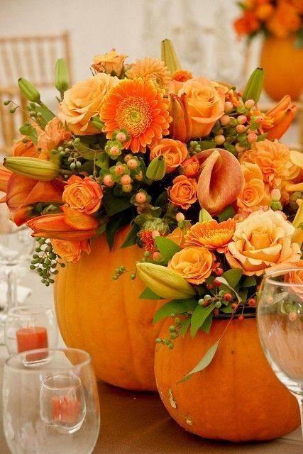 Pumpkin Vases – Time to Get Creative