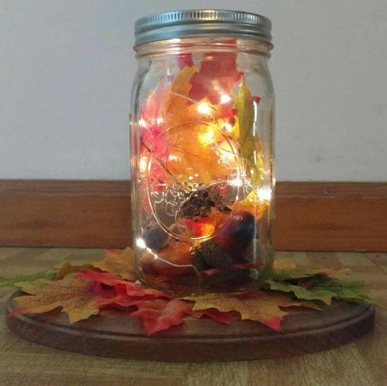 A Mason Jar of Lights - Delicate and Stunning