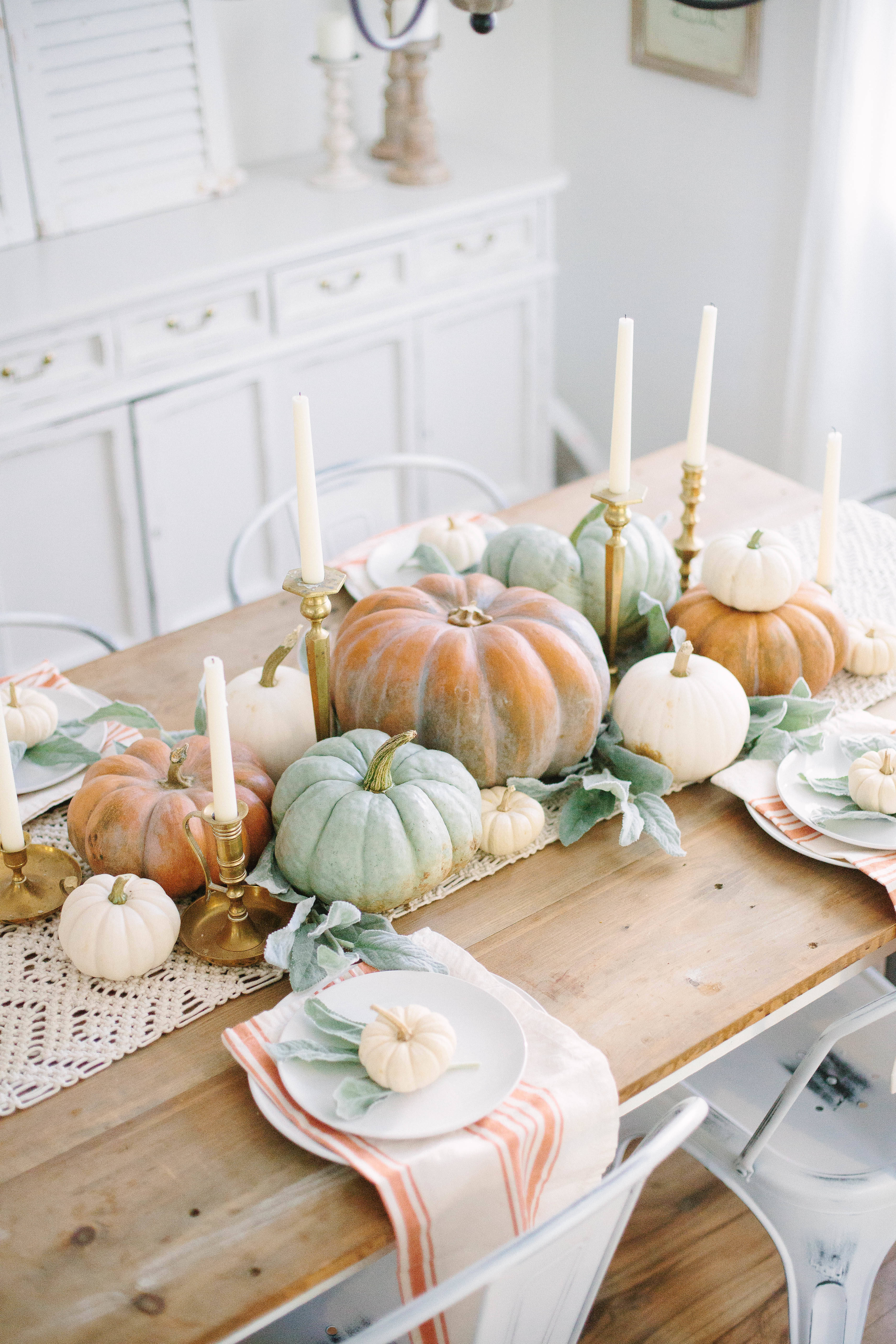 Pumpkins and Candles – Easy and Effortless