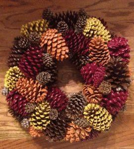 Painted Pinecones - DIY Autumn Projects