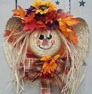 A Straw Hat Scarecrow - Groovy and Great