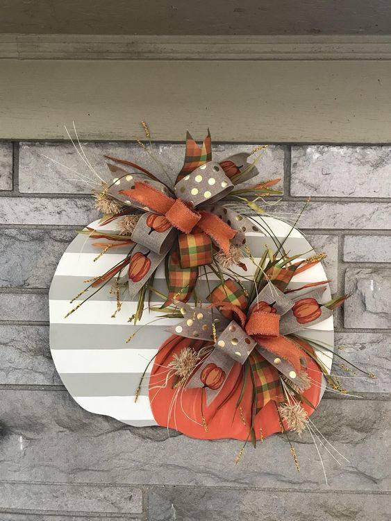 Cut It Out - Fall Wreaths for Front Door