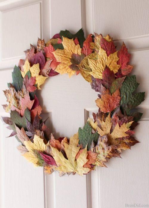 Preserving Lovely Leaves - Perfect for Autumn