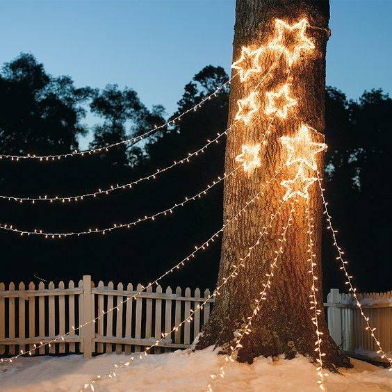 Light Up Your Garden - Outdoor Christmas Decoration Ideas