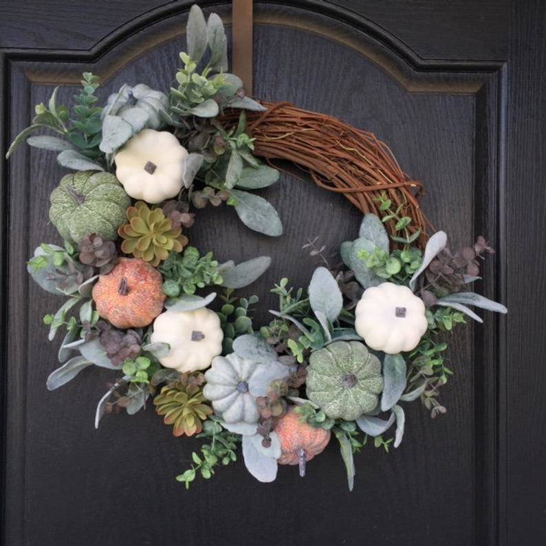 A Front Door Wreath - Amazing and Awesome