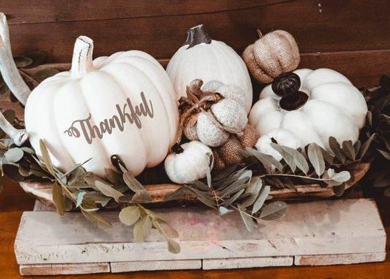 Thankful for This Time – Creative Pumpkin Decorating