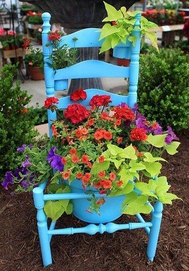 An Old Chair - Getting Creative