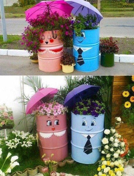 Creating Containers - Spring Outdoor Decorations