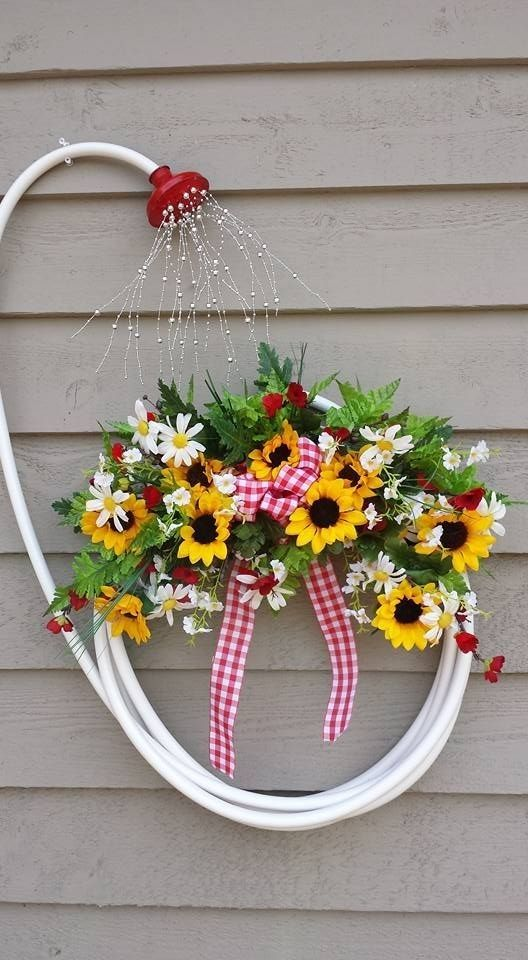 A Shower of Flowers - Spring Outdoor Decorations