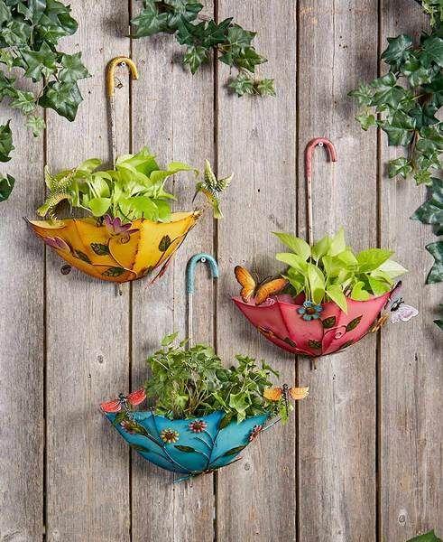Unbelievable Umbrellas - Garden Decorations for Spring