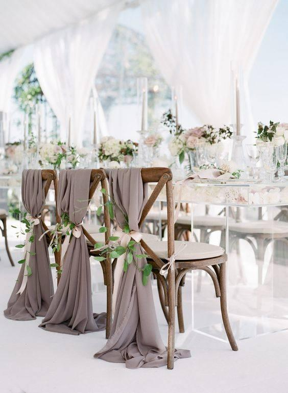 Decorate Your Chairs – DIY Wedding Decorations