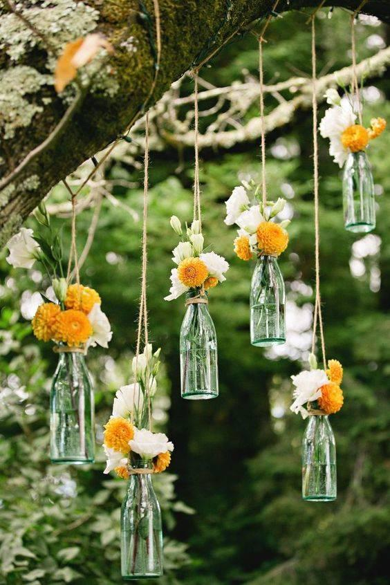 For a Natural Essence - Cheap Wedding Decoration Ideas