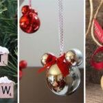 25 DIY CHRISTMAS TREE DECORATIONS – Homemade Christmas Ornaments