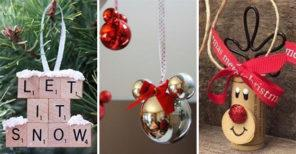 25 DIY CHRISTMAS TREE DECORATIONS – Homemade Christmas Ornaments