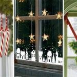 20 CHRISTMAS WINDOW DECORATIONS – Christmas Window Decoration Ideas