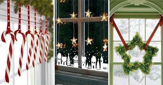 20 CHRISTMAS WINDOW DECORATIONS – Christmas Window Decoration Ideas