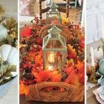 25 FALL TABLE CENTREPIECES – Fall Table Decor Ideas