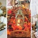 25 FALL TABLE CENTREPIECES – Fall Table Decor Ideas