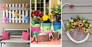 30 GARDEN DECORATIONS FOR SPRING – Lovely Spring Outdoor Decorations