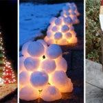 25 OUTDOOR CHRISTMAS DECORATION IDEAS – Easy Outdoor Christmas Decorating Ideas