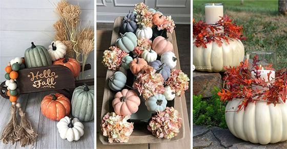 30 CREATIVE PUMPKIN DECORATING IDEAS – Halloween Pumpkin Decorations