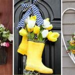 25 GORGEOUS SPRING DOOR DECORATIONS – Spring Wreaths for the Front Door