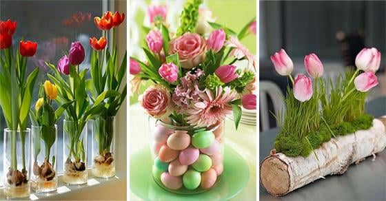 20 SPRING TABLE CENTREPIECES – Stunning Spring Table Decorations