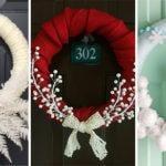 25 WINTER DOOR DECORATIONS – Wonderful Winter Wreath Ideas