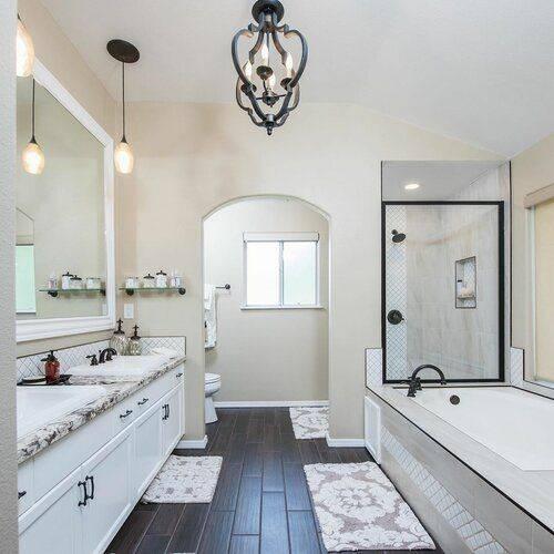 Wonderful in White - Modern Master Bathroom Designs