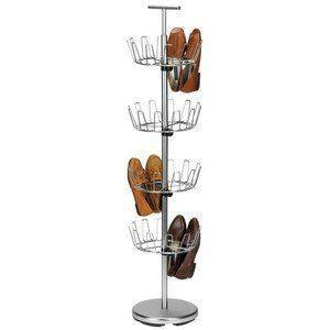 A Handy Shoe Hanger - Easy Storage Ideas
